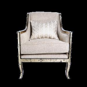 Beige Chair Front