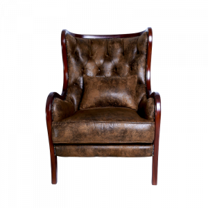 Leather Brown Front