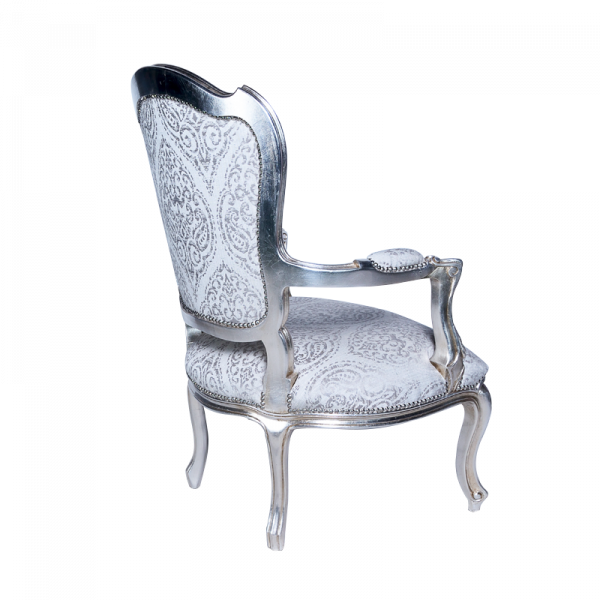 Silver Chair Back