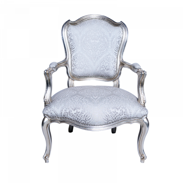 Silver Chair Front
