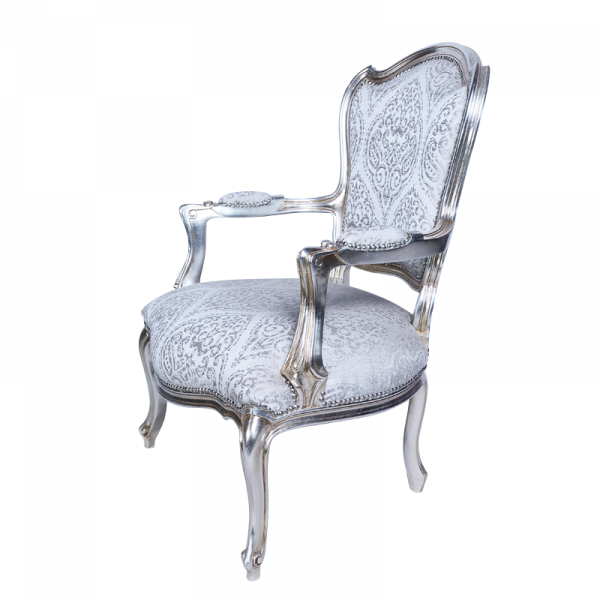 Silver Chair Side